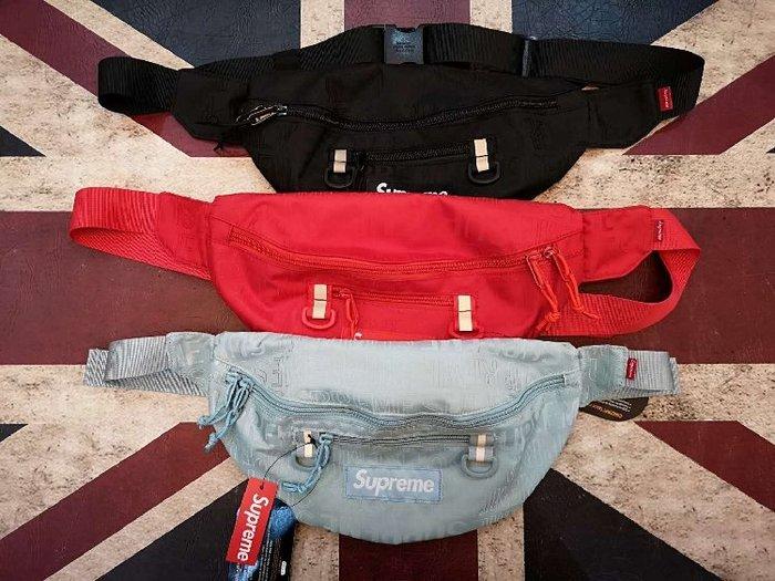 全新正品Supreme 2019SS 46th Waist Bag 腰包 側背包 小包 肩包