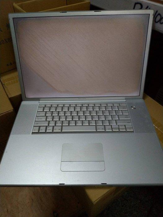 ☆手機寶藏點☆ Apple Powerbook G4 17吋 A1139 零件機 殺肉機