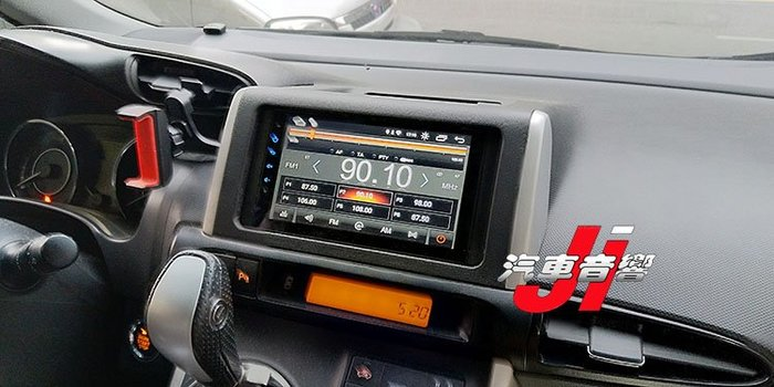 **Ji汽車音響** WISH TOYOTA 9.0版本 7吋LED面板 安卓機 內建正版導航 台灣製造一千萬責任險