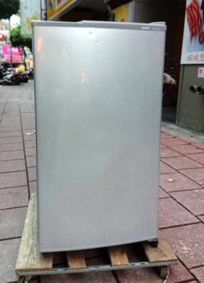 【真實園中古家電】三洋 SANYO SR-105A 105公升 二手 單門 冰箱 超薄璧/靜音/省電/極新