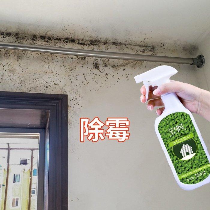 小花精品店-2瓶裝宏楓除霉劑白墻面墻體家具防發霉墻壁除霉去污霉斑清除劑
