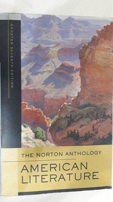 【月界2】Norton Anthology of American Literature_Baym 〖大學文學〗AKR