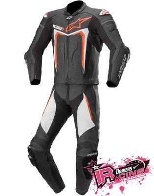 ♚賽車手的試衣間♚ Alpinestars® Motegi V3 2PC B/W/R 兩件式 防摔皮衣