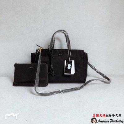 美國大媽代購 agnes.b  簡約時尚 防水尼龍手提包 通勤包 旅行包日本代購 Outlet限量