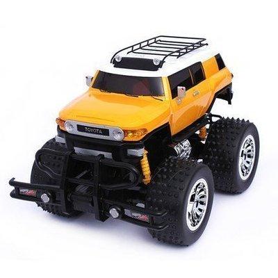 【優上精品】兒童充電動遙控汽車玩具  超大豐田遙控車 大輪車越野車模型(Z-P3146)