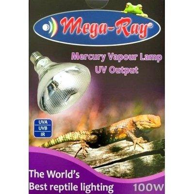 柴灣水中情 100w Mega-Ray全光譜UVA+B爬蟲太陽燈(70w 160w同價)