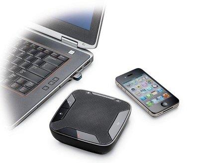 Plantronics Calisto P620 無線藍牙會議音訊設備,USB,SKYPE LINE商用視訊會議,全新
