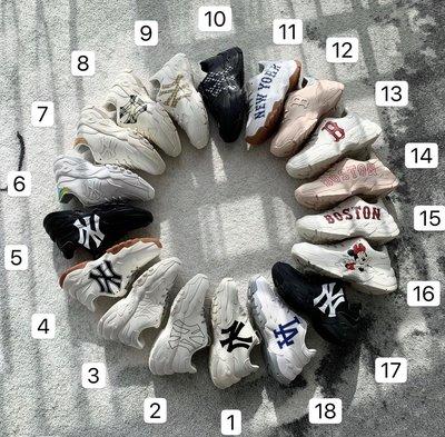 正品 🇰🇷 韓國KKOBA MLB老爹鞋 NY LA Boston Dodgers 洋基 運動鞋 厚底鞋 增高6公分
