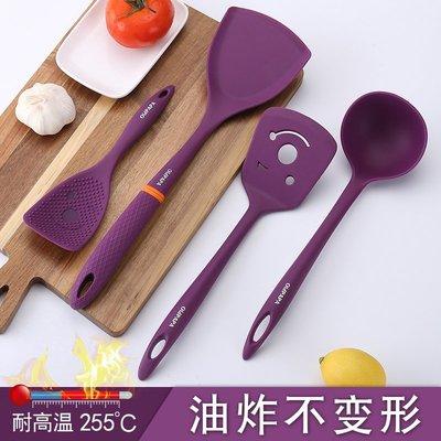 食品級矽膠鍋鏟 廚房不粘鍋鍋鏟炒菜鏟子長柄鍋鏟家用鏟