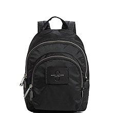 Coco 小舖 MARC JACOBS Double Pack Mini Nylon Backpack黑色迷你尼龍後背包