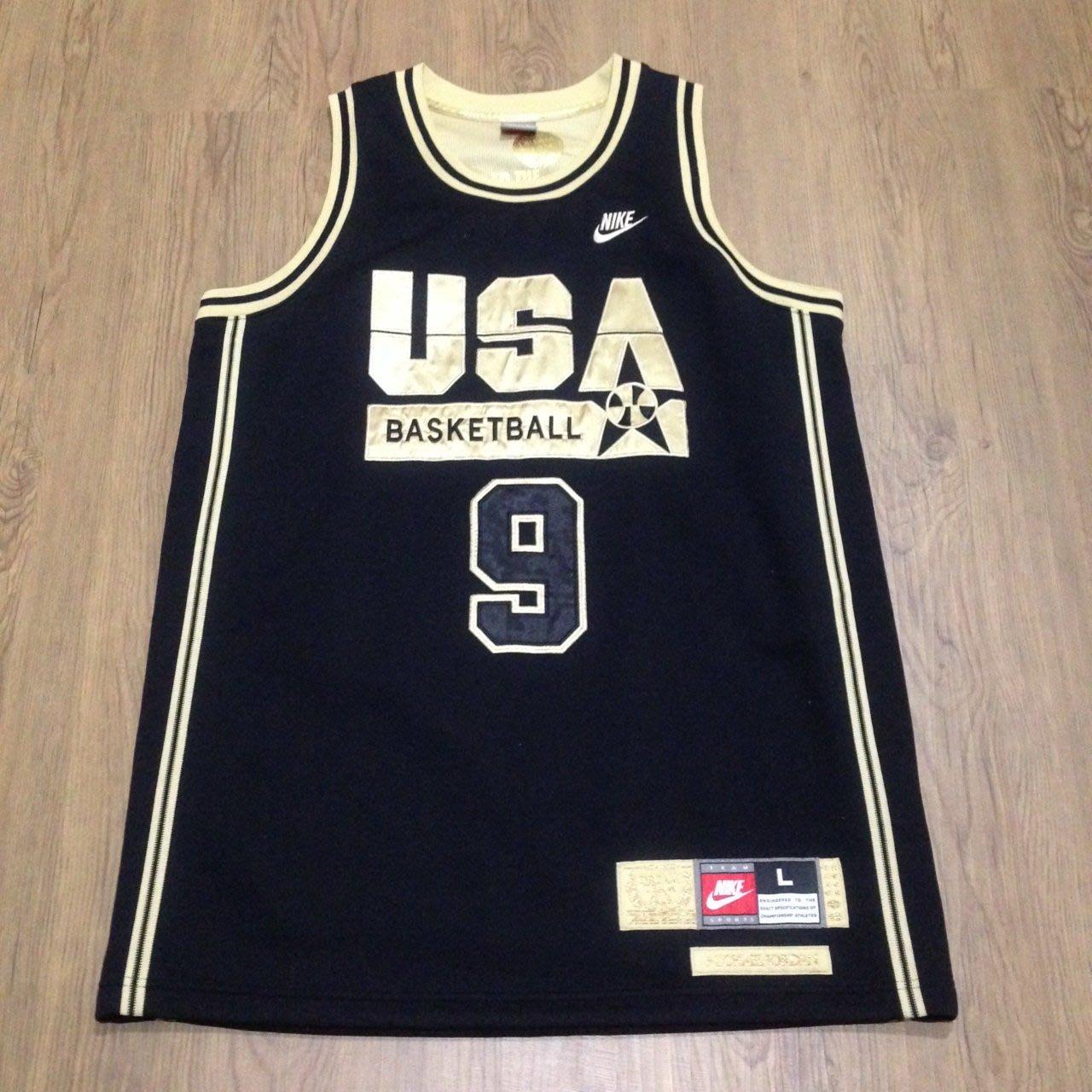 online retailer af728 2a579 NIKE USA MICHAEL JORDAN OLYMPIC JERSEY 1992 巴塞隆納奧運喬丹 ...