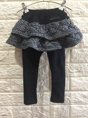 【花栗鼠KiDs ShOp】格子雙層鋪棉裙褲(有#17)