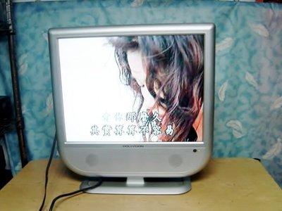 Y保固3個月有瑕疵的【小劉二手家電】POLYVISION 20吋電腦液晶螢幕,可外接AV端子,當監視器~
