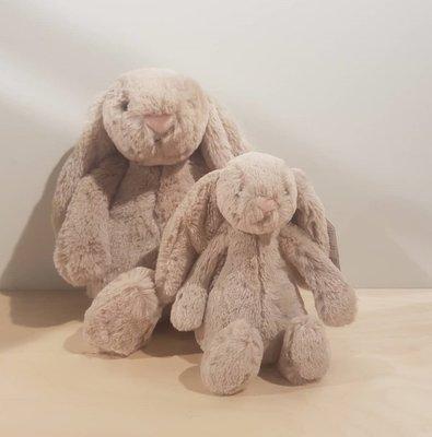 JELLYCAT 兔子玩偶 安撫娃娃 Bashful Bunny medium plush 31公分