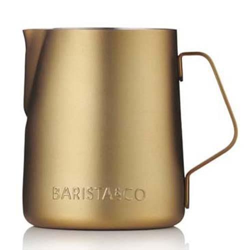 有把手BARISTA&CO 拉花鋼杯 350ml 金色