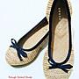 全新正貨真品日本製JELLY BEANS 優雅蝴蝶結平底鞋 已加防滑墊 (喜歡ZARA、H&M、TOPSHOP可參考)