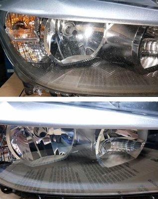 大燈快潔現場施工 BMW 寶馬 F30 F32 F82 原廠車大燈泛黃霧化拋光修復翻新處理
