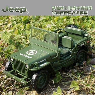精選好物 玩具車 模型車 送禮 凱迪威1:18合金悍馬越野吉普車仿真原廠兒童玩具汽車軍事模型收藏