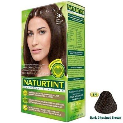 【seven健康小舖】【Naturtint 赫本染髮劑】 ~ (3N深棕黑色)