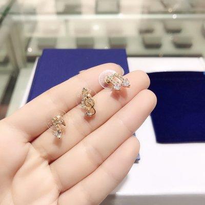 耳釘秋冬金色音符符號耳釘女朋友七夕
