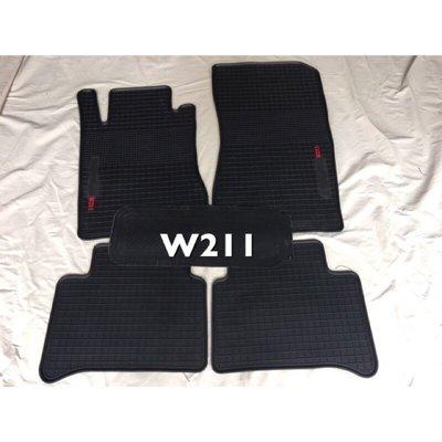 ~綠茶~ W211 E系列 賓士 BENZ W221 W203  橡膠防水腳踏墊 橡膠腳踏墊 汽車防水腳踏墊