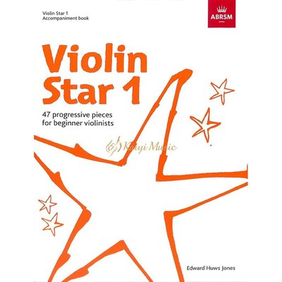 Kaiyi Music 【Kaiyi Music】Violin star accompaniment book 1