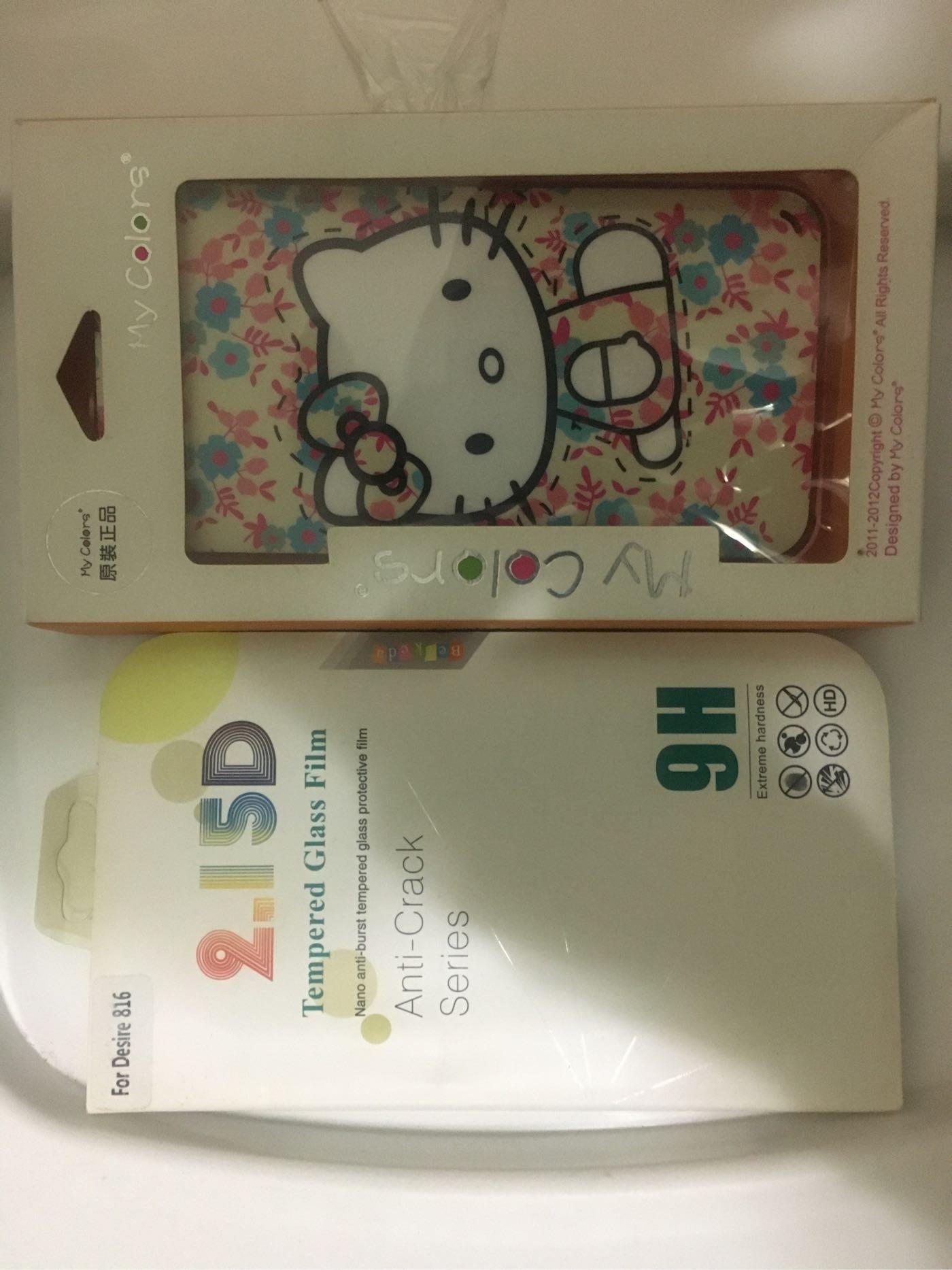 現貨禮包 HTC 816 手機殼~~~不挑款背殼+鋼化玻璃貼,只要$88 {全新 無用過}