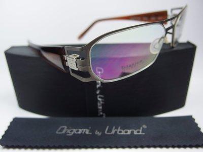 【信義計劃】全新真品 Urband 手工眼鏡 鏤空鈦金屬框 專利彈簧膠腳 雙槓雷朋款 超越 Markus T Flair