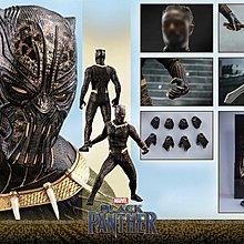 全新未開連保養單  Hottoys Black Panther   Erik Killmonger MMS471 金豹 黑豹