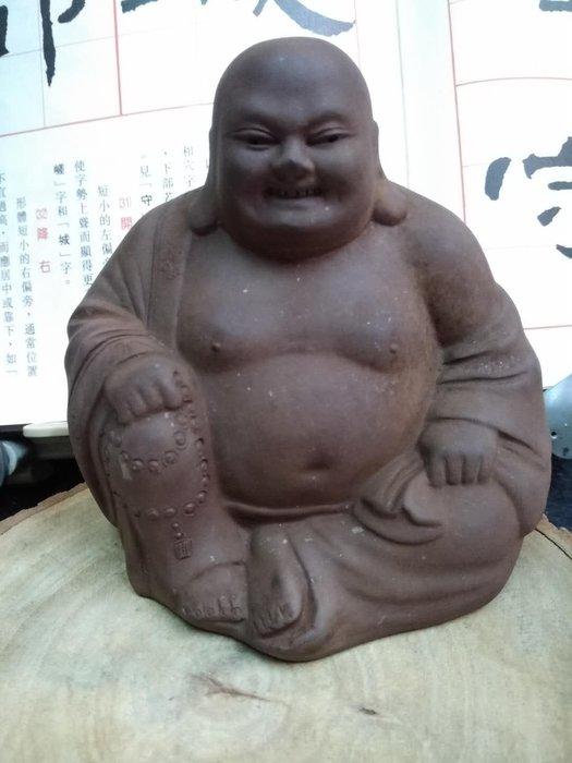【茶墨相濡】特賣 ☆紫砂壺☆ 早期宜興紫砂彌勒