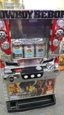 柯先生日本原裝SLOT斯洛拉霸機台2014 星際牛仔 打造電玩遊戲室民宿日式餐廳佈置微電影道具場景