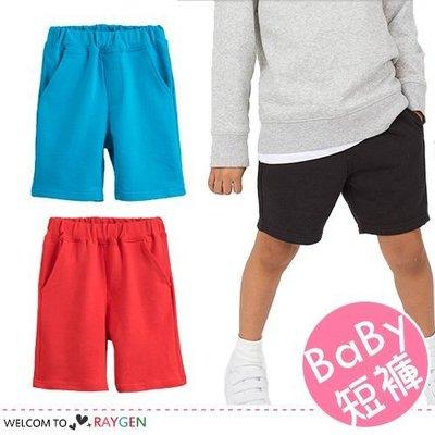 八號倉庫 兒童多色雙口袋針織五分褲 短褲【2B102M040】