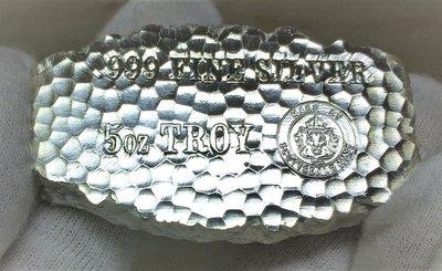 «自由銀»Tombstone Silver Nugget 知名墓碑銀塊 (5 toz=155.5g)