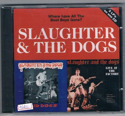 西洋CD-SLAUGHTER&THE DOGS/Where have All The Boot Boys Gone?