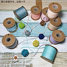 台孟牌 棉織繩 3mm 15色 粉粉登場 大包裝(編織、圓織帶、鉤包包、縮口繩、手提繩、包裝、飲料杯套、Macrame)