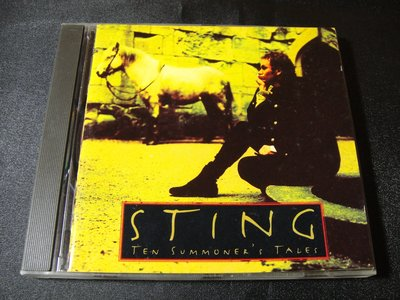 【198樂坊】Sting 史汀-Ten Summoner's Tales(Seven Days....德版)BQ