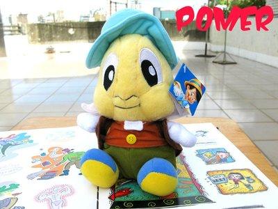 ☆POMER☆ 迪士尼授權正品 小木偶奇遇記 Pinoccbio 皮諾丘 Jiminy Cricket 蟋蟀先生娃娃玩偶