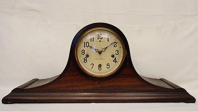 【timekeeper】 百年歲月美國製New Haven紐哈文壁爐式八日西敏寺音樂報時鐘(擺錘式)(免運)