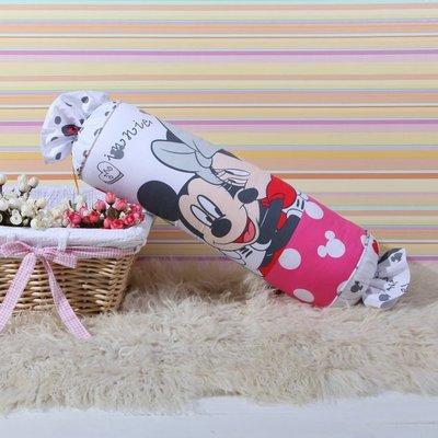 12款 迪士尼 糖果枕 卡通抱枕 全棉靠枕~米奇 米妮 Mickey Minnie  20~60CM