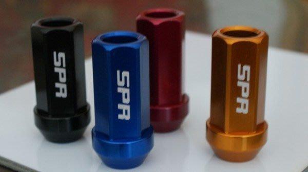 7075 鍛造 強化 輕量化 鋁圈 螺絲 Racing Nuts 陽極處理 SPR 外銷 黑 金 紅 藍
