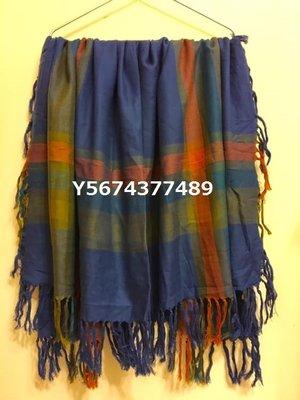 特價商品・J-238/USED<日本製線條柄披肩/大方巾>