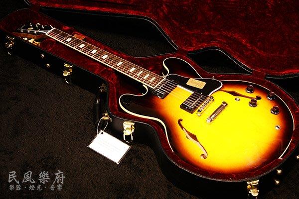 《民風樂府》Gibson Custom 1963 ES-335 VS Historic Block Reissue