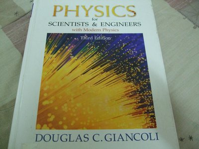 Physics for Scientists & Engineers  3/E Giancoli