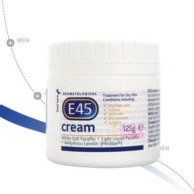 售完~小桃子【E45-002】英國 E45 舒緩敏感潤膚霜 125g 效期2021/04後 當天出貨