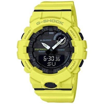 【東洋商行】免運 CASIO 卡西歐 G-SHOCK 智慧型手機藍芽連線運動錶 GBA-800-9ADR 手錶 電子錶