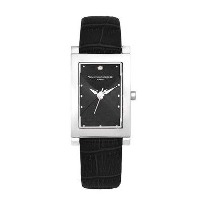 98 2M 古典黑男錶真愛典藏日本原裝機芯范倫鐵諾古柏 Valentino Coupeau