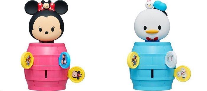 《東京家族》迷你危機一發-TSUM米妮 迪士尼 米老鼠米奇 米妮  唐老鴨 玩具 遊戲 兒童玩具