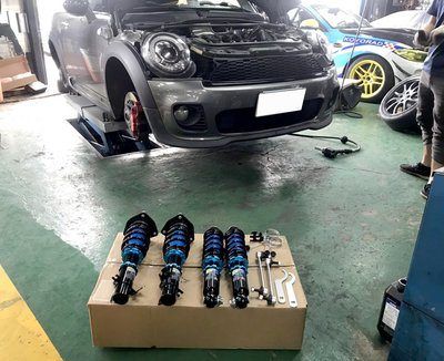 JK Racing 避震器 MINI COOPER S R56 專用 高低軟硬可調 避震器