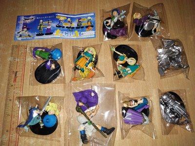 2手 80% 新 無盒 Square Enix Dragon Quest Character Figure 勇者鬥惡龍 盒蛋食玩 全套10款(不散賣) last