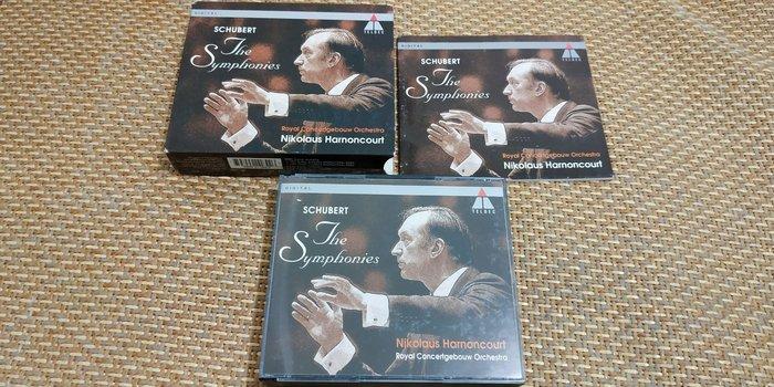 好音悅 Harnoncourt 哈農庫特 Schubert 舒伯特 交響曲 4CD TELDEC 德版